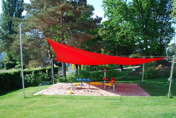 Gartenhallenbad Sandspielbereich