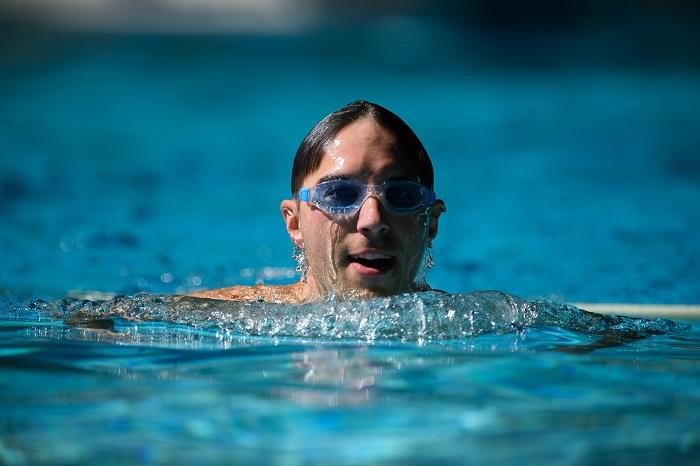 Gartenhallenbad Schwimmen