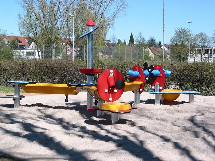 Matschspielbereich Gartenhallenbad Bernhausen