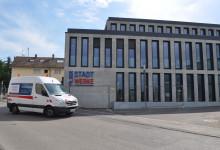 Das neue Gebäude der Filderstadtwerke in der Seestraße