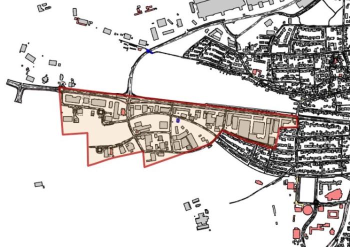 Ausbaugebiet Gewerbegebiet Bernhausen Augenloch