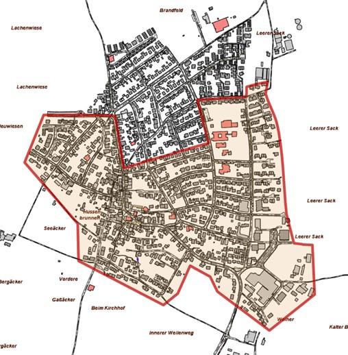 Ausbaugebiet Harthausen Süd
