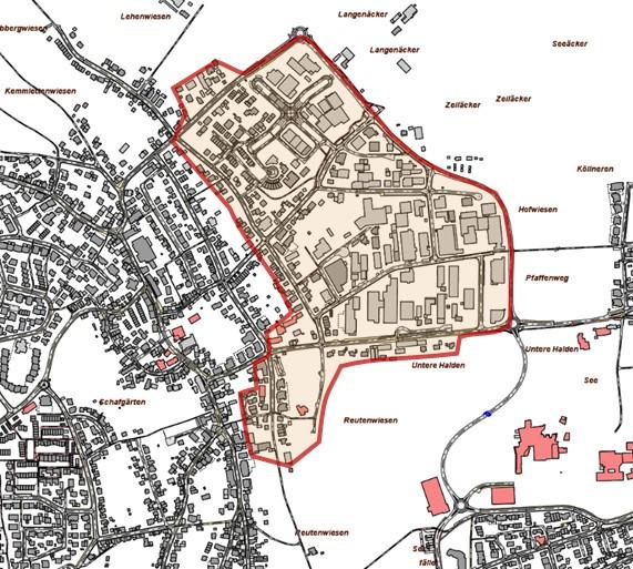 Ausbaugebiet Plattenhardt Ost